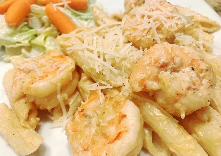 Quick & Easy Shrimp Pasta