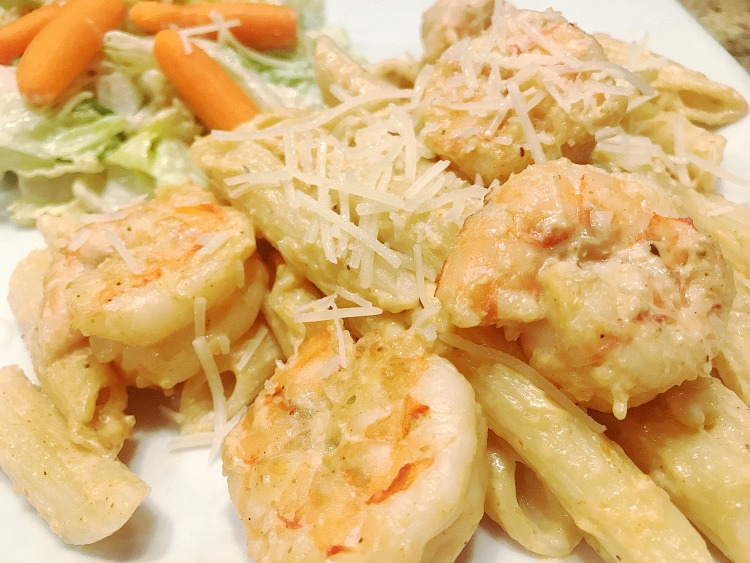 Quick & Easy Shrimp Pasta