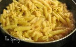 Pasta and Shrimp recipe, skillet recipes using shellfish,