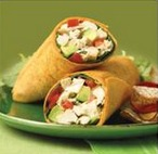 chicken avocado wraps, wrap recipes