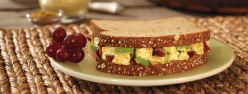 curry chicken salad sandwich