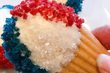 no-bake patriotic decorated cookies